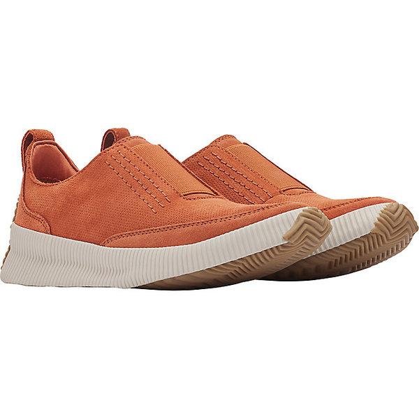 ソレル レディース スニーカー シューズ Sorel Women's Out N About Plus Slip On Shoe Teak Brown