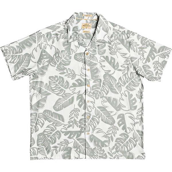 大好き クイックシルバー メンズ シャツ トップス Quiksilver Men&39;s Jungle Life Shirt Seagrass Jungle Life, LifeMart 3fd36004
