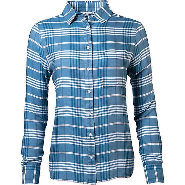 マウンテンカーキス レディース シャツ トップス Mountain Khakis Women's Laramie Ls Shirt Bluegrass
