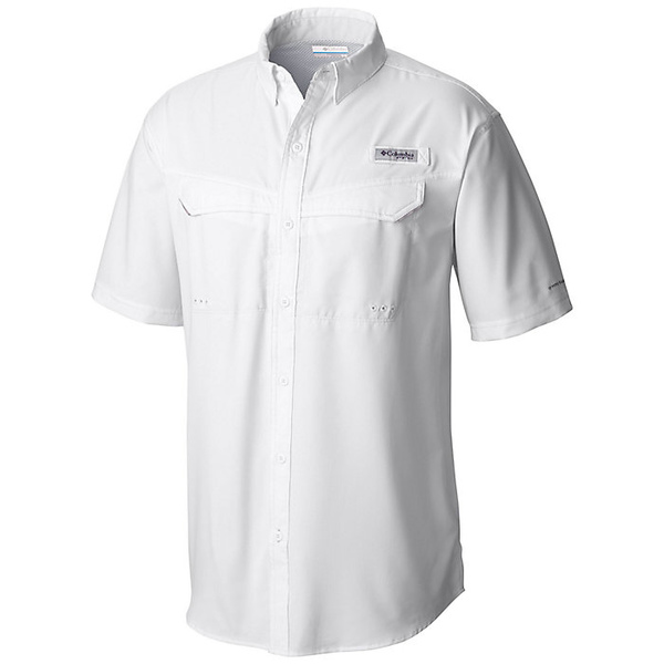 コロンビア メンズ シャツ トップス Columbia Men's Low Drag Offshore SS Shirt White
