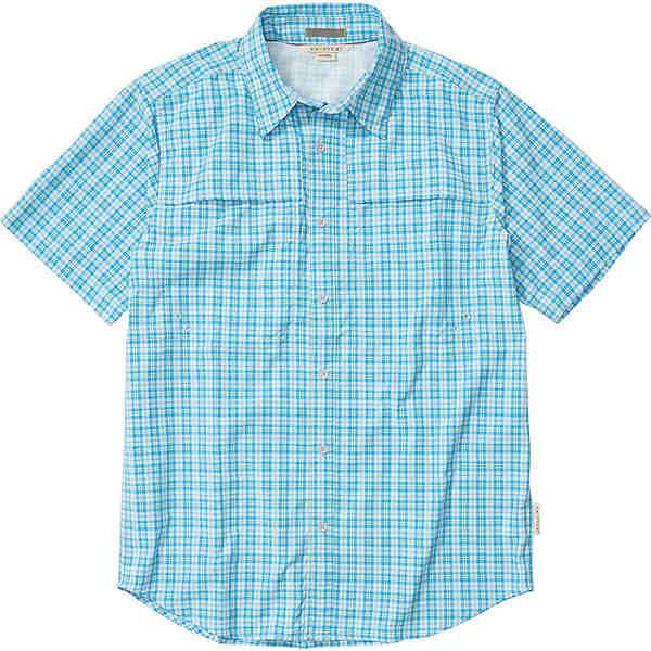エクスオフィシオ メンズ シャツ トップス ExOfficio Men's Tellico SS Shirt Blue Bell