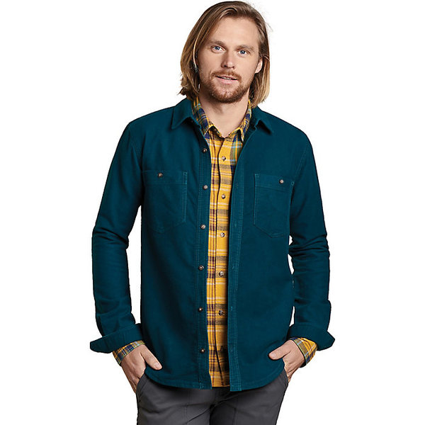 トードアンドコー メンズ シャツ トップス Toad & Co Men's Morrison LS Shirt Blue Spruce