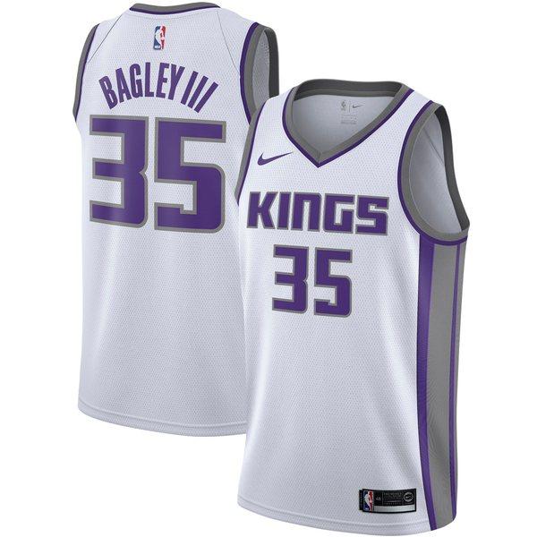 ナイキ メンズ ユニフォーム トップス Sacramento Kings Marvin Bagley III Nike Men's Swingman Jersey Purple