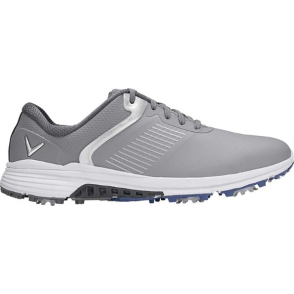 キャラウェイ メンズ スニーカー シューズ Solana TRX Waterproof Golf Shoe Grey Microfiber Leather