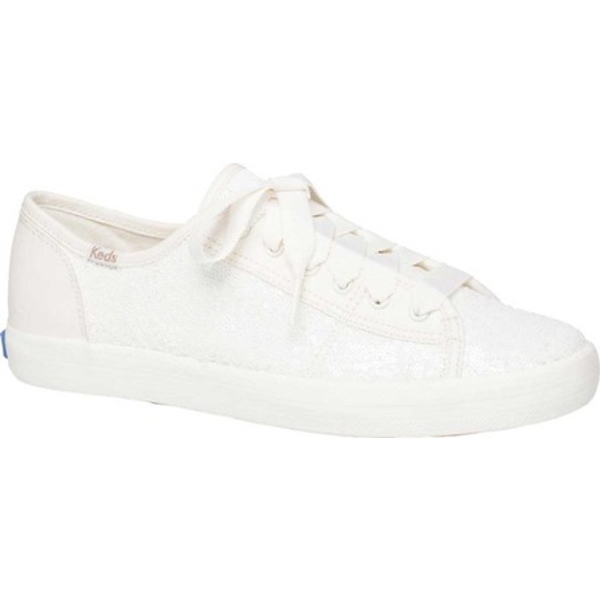 ケッズ レディース スニーカー シューズ Kickstart Mini Sequin Sneaker Cream Sequin/Fabric