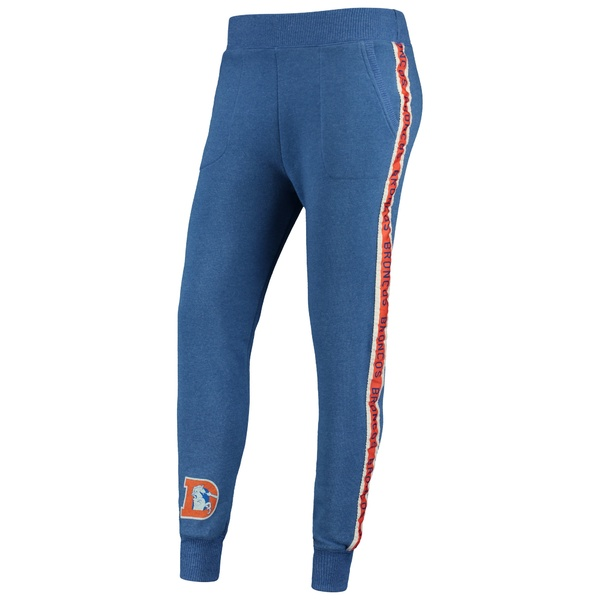 ジャンクフード レディース カジュアルパンツ ボトムス Denver Broncos Junk Food Women's Sunday Liberty Fleece Jogger Pants Royal