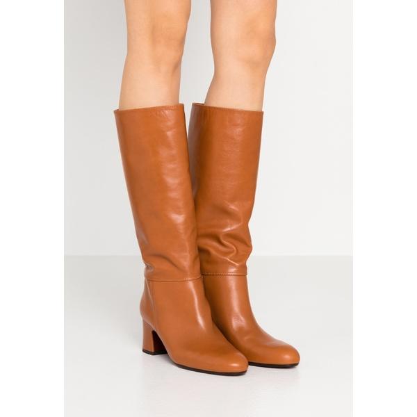 チエミハラ レディース シューズ 割引も実施中 美品 ブーツ レインブーツ troka Boots cognac pdft0031 NENIS 全商品無料サイズ交換 -