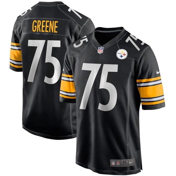 ナイキ メンズ ユニフォーム トップス Joe Greene Pittsburgh Steelers Nike Game Retired Player Jersey Black