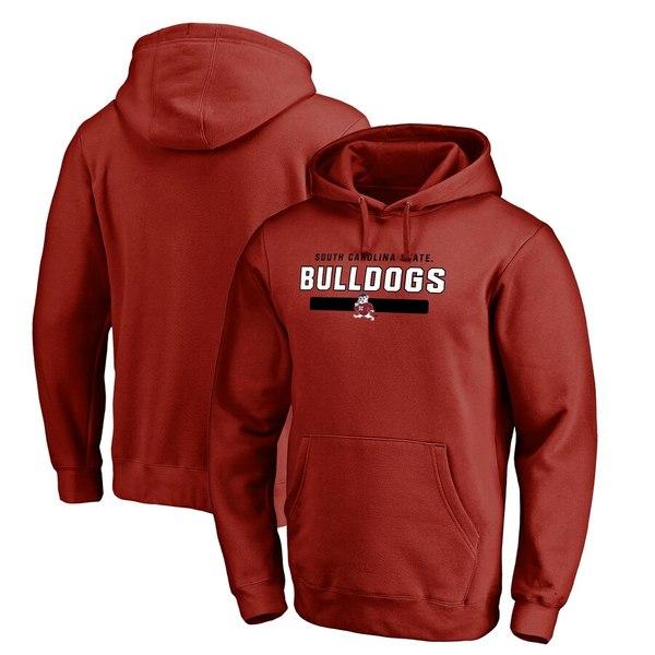 ファナティクス メンズ パーカー・スウェットシャツ アウター South Carolina State Bulldogs Fanatics Branded Team Strong Pullover Hoodie Garnet