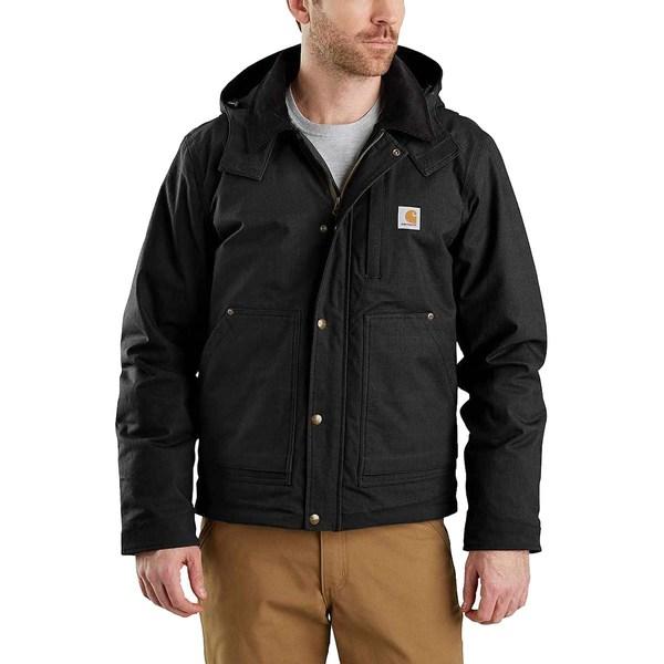 カーハート メンズ ジャケット&ブルゾン アウター Full Swing Steel Jacket Black
