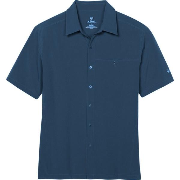 キュール メンズ シャツ トップス Renegade Shirt Pirate Blue