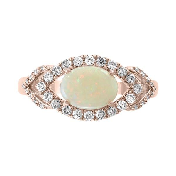 直送商品 エフィー コレクション (1/3 (5/8 レディース リング アクセサリー EFFY® Opal (5 &/8 ct. t.w.) & Diamond (1/3 ct. t.w.) Ring in 14k Rose Gold Opal, Unique&Basic【UBASIC】:dd100f2e --- kalpanafoundation.in
