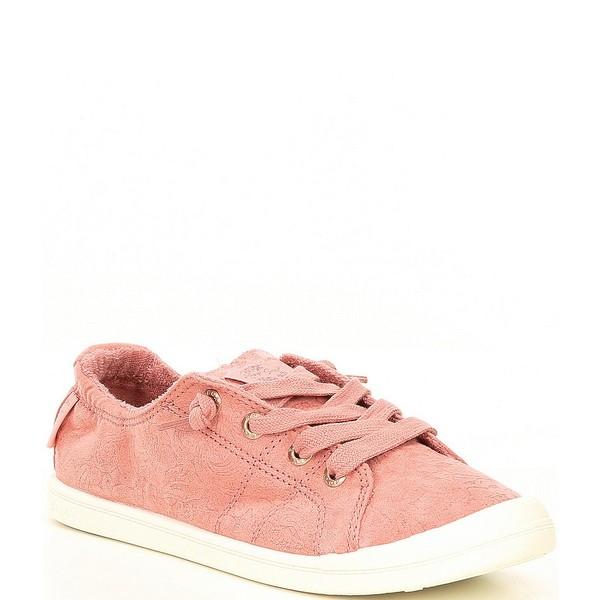 ロキシー レディース スニーカー シューズ Bayshore III Embossed Slip On Sneakers Pink Carnation