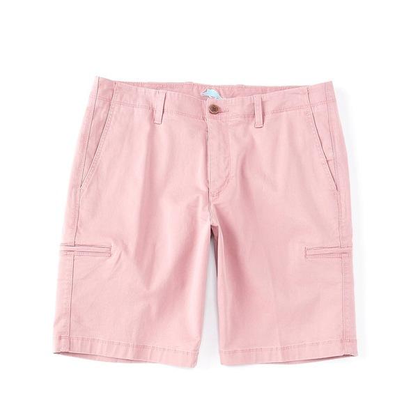 トッミーバハマ メンズ ハーフ&ショーツ ボトムス Boracay Cargo 10#double; Inseam Stretch Sateen Shorts Dusty Clay