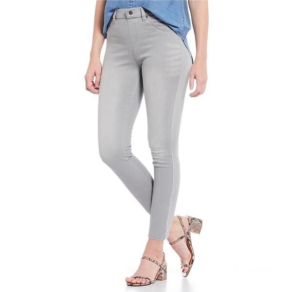 ヒュー レディース レギンス ボトムス Ultra Soft Denim Skimmer Leggings Silver Grey