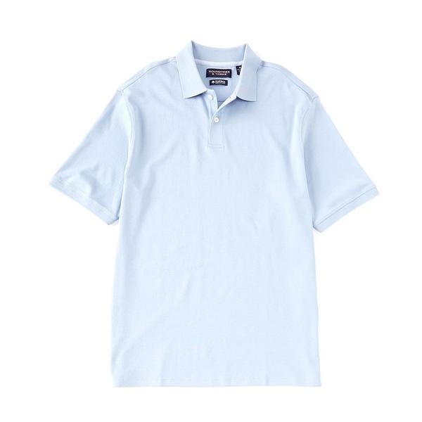 ランドツリーアンドヨーク メンズ ポロシャツ トップス Short-Sleeve Supima Solid Polo Light Periwinkle