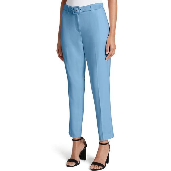 タハリエーエスエル レディース カジュアルパンツ ボトムス Bi-Stretch Ankle Belted Pant Forever Blue