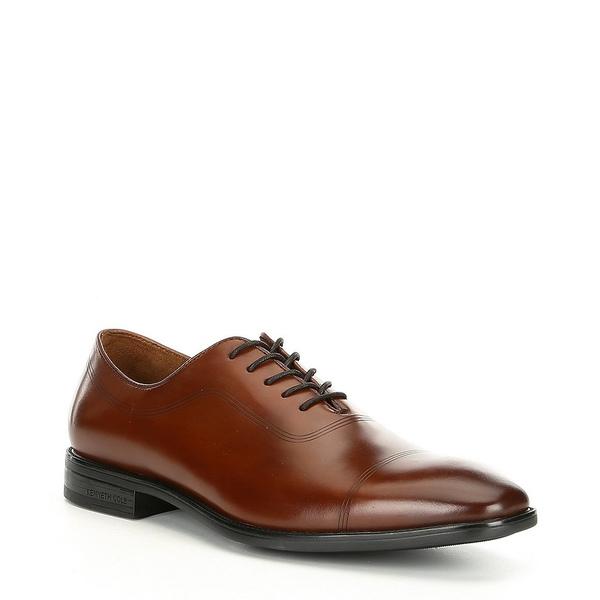 ケネスコール メンズ ドレスシューズ シューズ Men's Ticketpod Leather Oxford Cognac