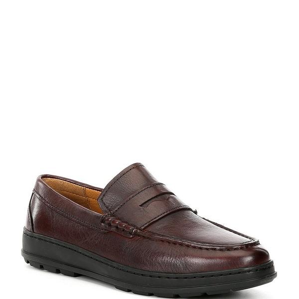 コールハーン メンズ スニーカー シューズ Men's Hamlin Leather Penny Loafers Cordovan