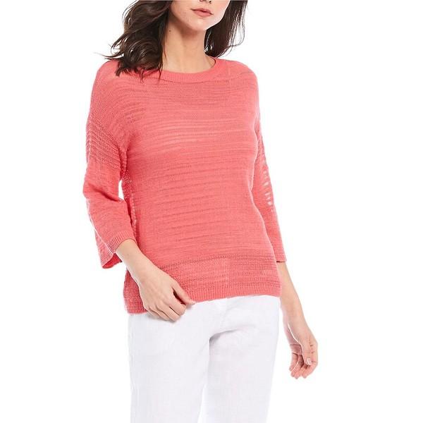 トッミーバハマ レディース ニット&セーター アウター Sea Grass Open Hem Cotton Sweater Tutti Frutti
