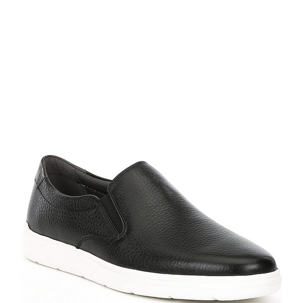 ロックポート メンズ スニーカー シューズ Men's TM Lite Leather Slip On Shoes Black