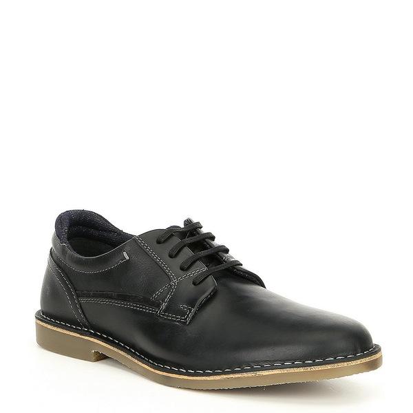 スティーブ マデン メンズ ドレスシューズ シューズ Men's Gorren Plain Toe Oxford Black