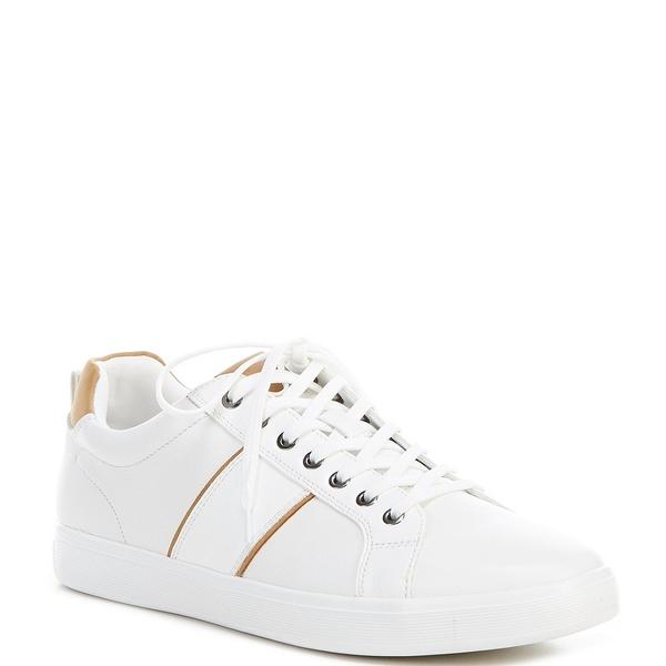 アルド メンズ スニーカー シューズ Men's Cadaredien Leather Sneakers White