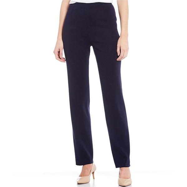 ミンウォン レディース カジュアルパンツ ボトムス Basic Full Length Straight Leg Pant Indigo