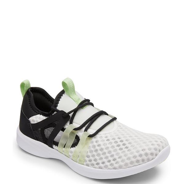 バイオニック レディース スニーカー シューズ Adore Neoprene and Knit Sneakers Black White