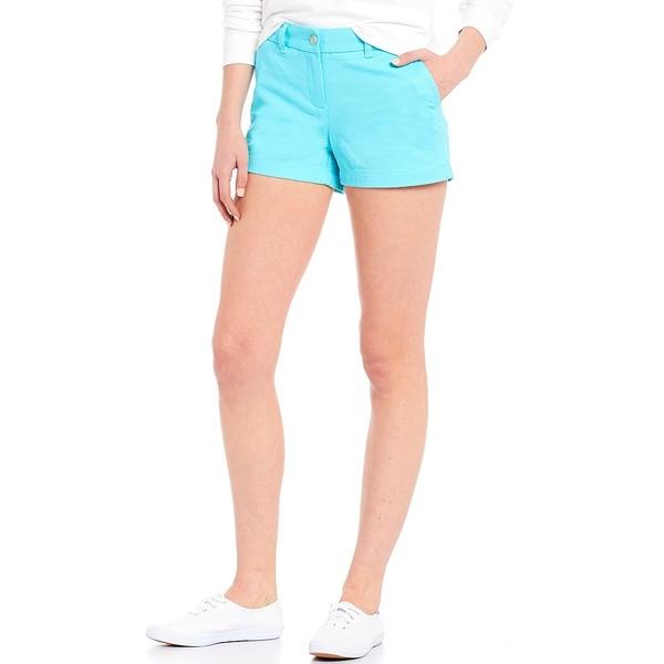 サウザーンタイド レディース カジュアルパンツ ボトムス Leah Twill Shorts Crystal Blue