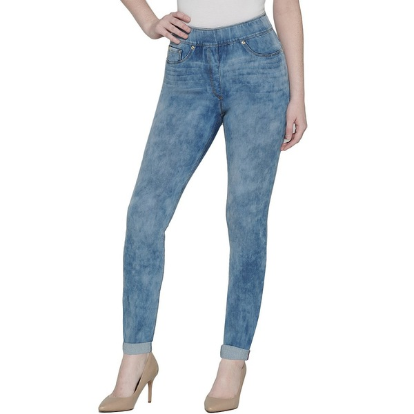 ピーターニガード レディース デニムパンツ ボトムス SLIMS Luxe Denim Super High Rise Skinny Cuff Ankle Jeans Chambray