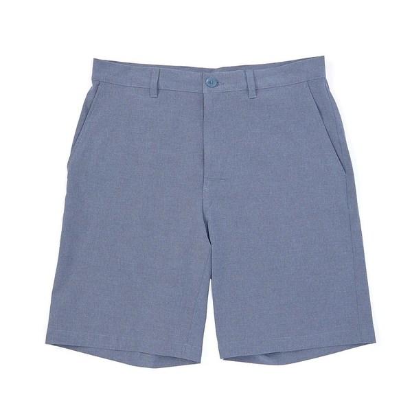 クレミュ メンズ ハーフ&ショーツ ボトムス Heather Water-Repellent Performance Stretch 9#double; Inseam Shorts Medium Blue Heather