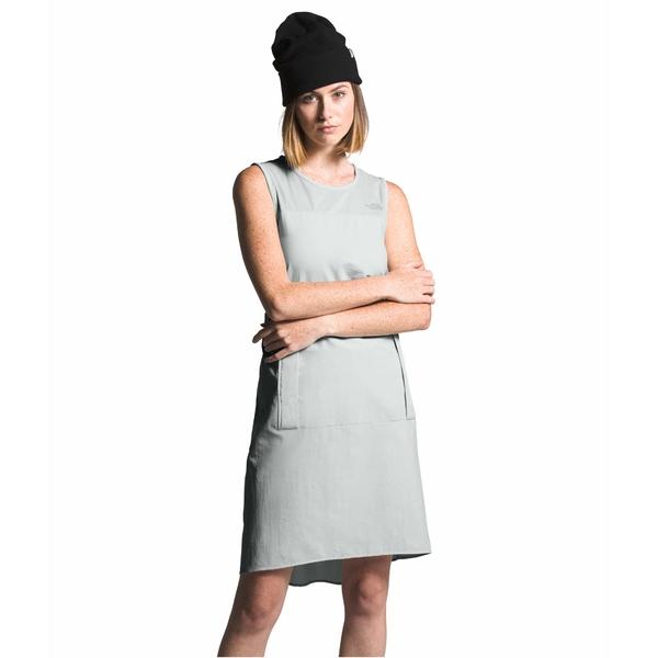 ノースフェイス レディース ワンピース トップス Explore City Bungee Dress Tin Grey