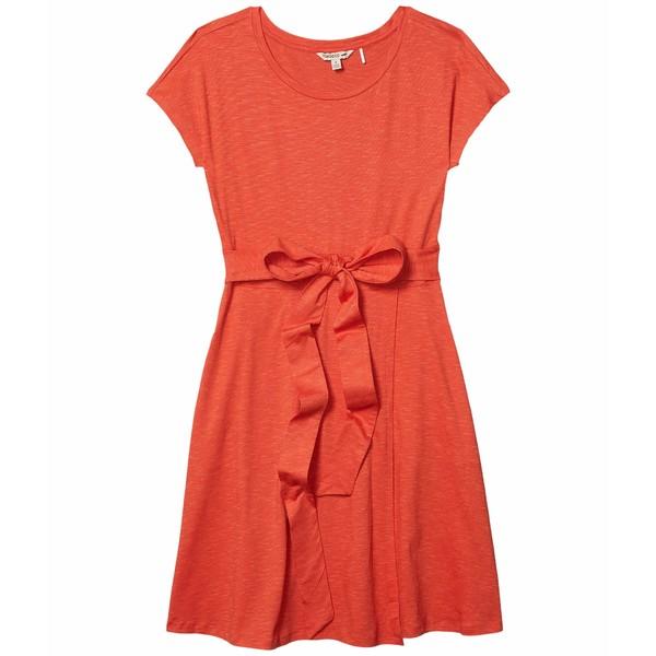 ドード アンドコー レディース ワンピース トップス Cue Wrap Short Sleeve Dress Chili