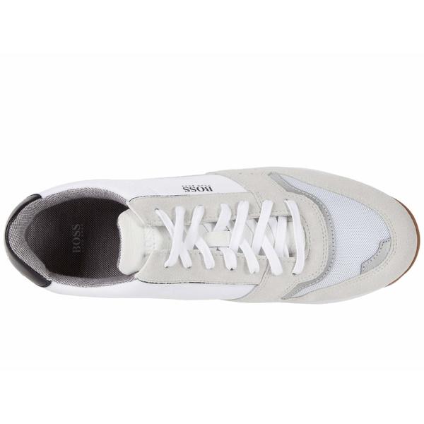 ヒューゴボス メンズ スニーカー シューズ Sonic Low Top Sneaker by BOSS WhiteN0Ovmy8wPn