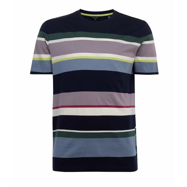 テッドベーカー メンズ シャツ トップス Striped Shirt Dark Navy