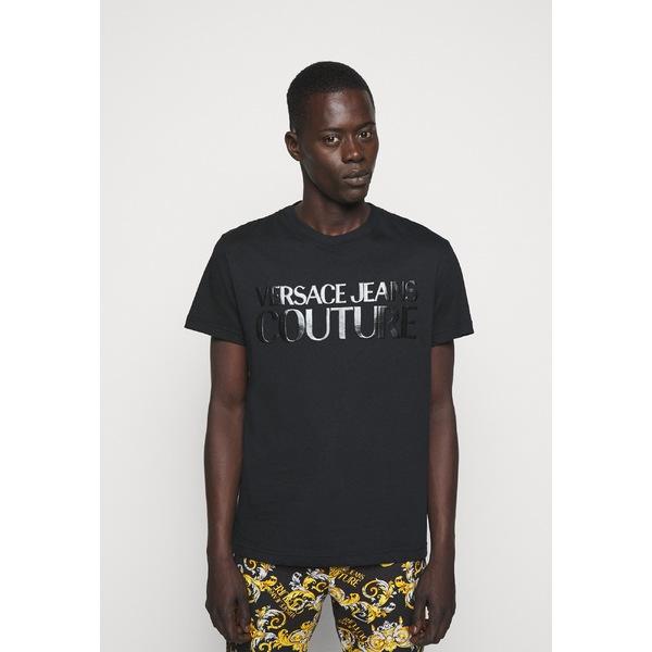 ベルサーチ メンズ 輸入 トップス Tシャツ 数量限定アウトレット最安価格 nero 全商品無料サイズ交換 T-shirt - pify003b LOGO NEW Print