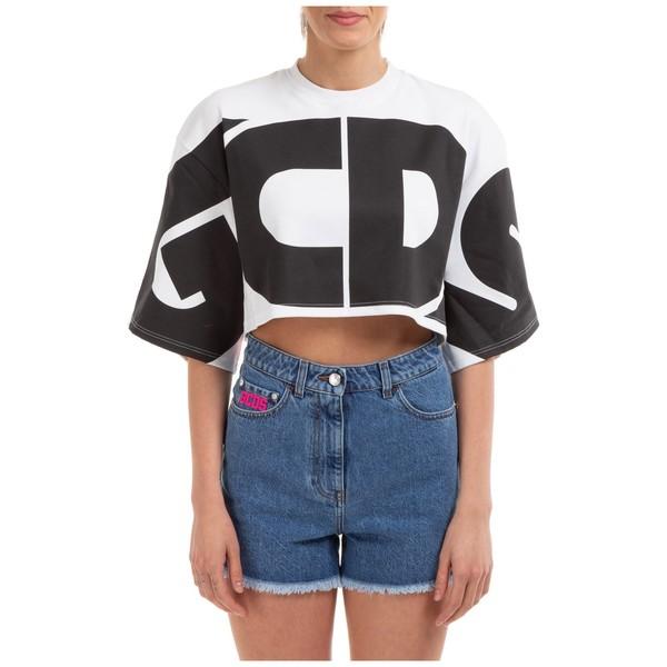ジーシーディーエス レディース Logo Cropped ニット&セーター GCDS - Sweatshirt アウター
