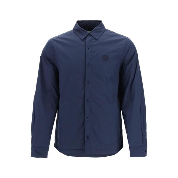 最も  ケンゾー メンズ シャツ トップス Kenzo Tiger Crest Padded Shirt -, LEVEL6 05a5b64d