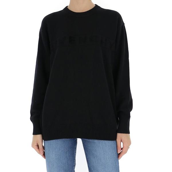 高級素材使用ブランド ジバンシー レディース ニット&セーター アウター Givenchy Logo Knitted Sweater -, タカセチョウ bab77140