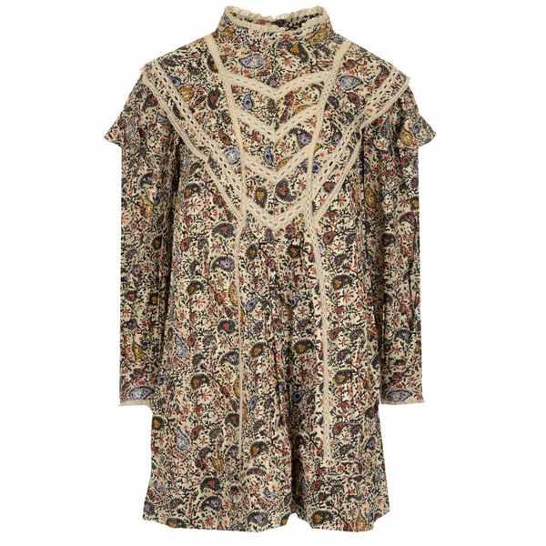 【おしゃれ】 イザベルマラン レディース ワンピース トップス Isabel Marant toile Rebel Ruffles Dress -, サンタズショップ 1baacb53
