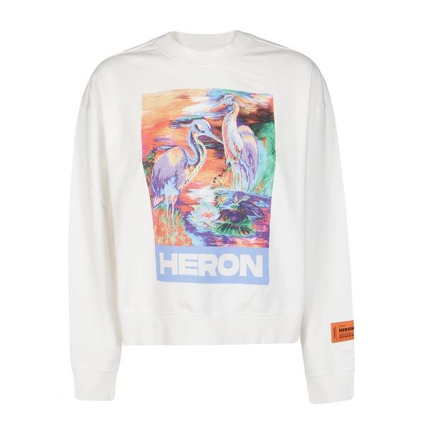 Graphic Print - Heron プレストン アウター ヘロン ニット&セーター Sweatshirt Preston レディース