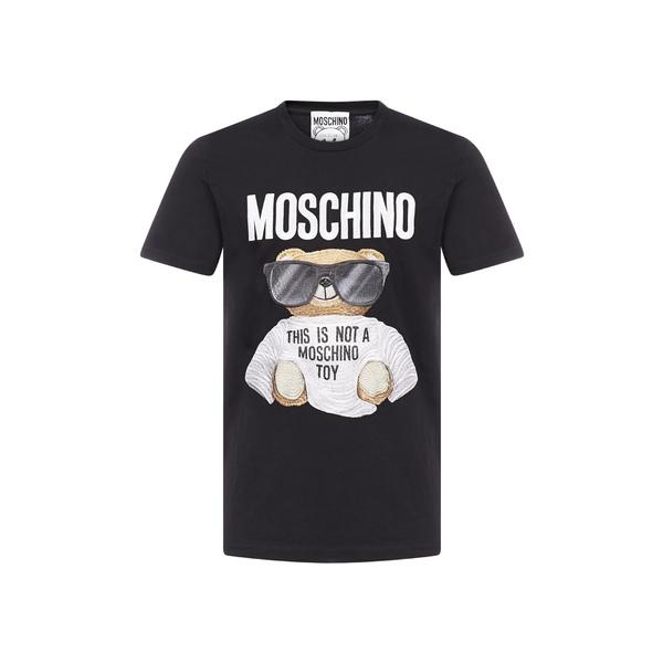 最新の激安 モスキーノ メンズ Tシャツ トップス Moschino Teddy T-Shirt -, エスニード bdd3b5bb