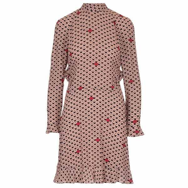 楽天 レッドヴァレンティノ レディース ワンピース トップス Red Valentino Mouth Print Bow Detailed Dress -, 本庄市 03bb637b