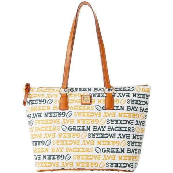 ドーネイアンドバーク レディース バックパック・リュックサック バッグ Green Bay Packers Dooney & Bourke Women's Doodle Wren Zip Tote Bag Unknown