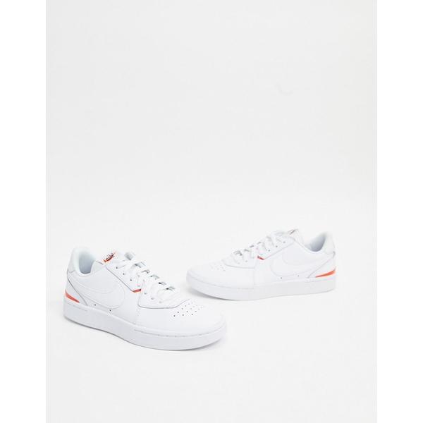 ナイキ レディース スニーカー シューズ Nike Court Blanc white Court sneakers White