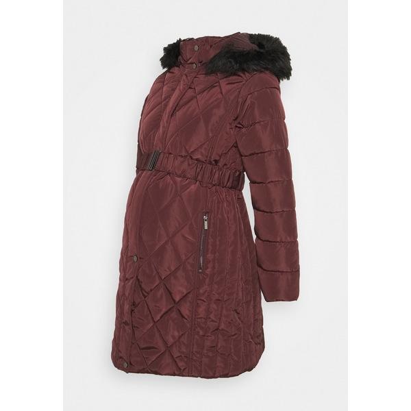 ドロシー パーキンス レディース アウター 受賞店 コート red 全商品無料サイズ交換 QUILT COAT plej0251 激安通販販売 LONG BELTED - LUXE coat Winter
