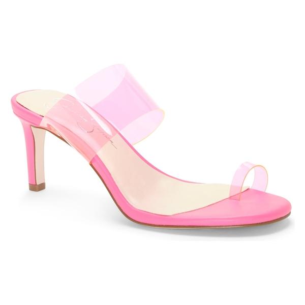 ジェシカシンプソン レディース サンダル シューズ Jessica Simpson Lissah Slide Sandal (Women) Pink