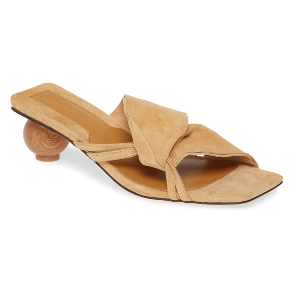 ジャガー レディース サンダル シューズ JAGGAR Gathered Slide Sandal (Women) Amberlight Suede