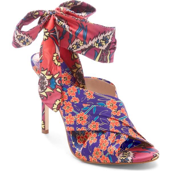 ジェシカシンプソン レディース サンダル シューズ Jessica Simpson Stella Sandal (Women) Purple/ Orange